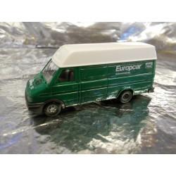"** Busch 47904  Iveco Daily  "" Europcar ""."