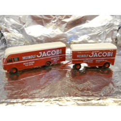 "** Brekina 57750  Lorry with Trailer  "" Meinolf Jacobi ""."