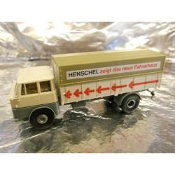 ** Brekina 77023 Henshel HS 16TL Lorry 'Henschel  Zeigt Das Neue Fahrerhaus'