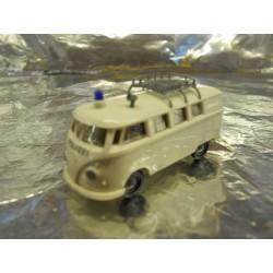 ** Brekina 31601 VW T1 Kombi Police Van White