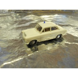 ** Brekina 26101 VW 1500 White Police Vehicle.