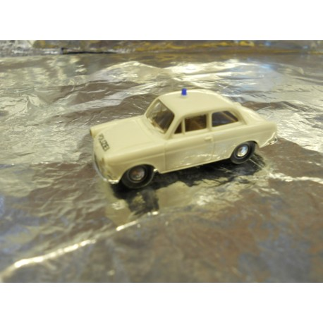 ** Brekina 26101 VW 1500 White Police Vehicle.