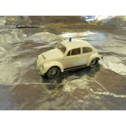 ** Brekina 25202 VW Beetle White Police Vehicle