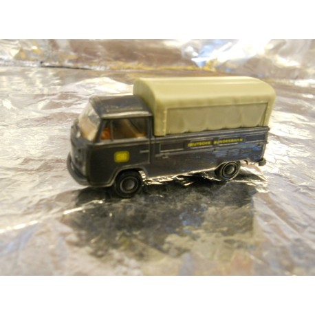 ** Brekina 33903 VW T2 Truck with Canopy Dark Blue DB