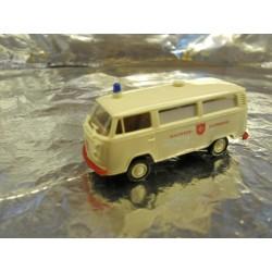 ** Brekina 33251 VW Ambulance White Malteser Hilfsdienst