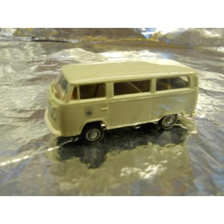 ** Brekina 33210 VW T2 Mini Bus ZOLL Light Grey