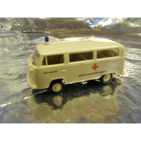 ** Brekina 33240 VW Ambulance White ' Deutsches Rotes Kreuz '