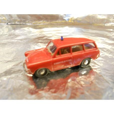 ** Brekina 26512 VW 1500 Red German Fire Brigade