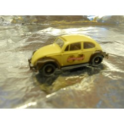 ** Brekina 25022 VW Beetle Cream/Brown Handelsgold