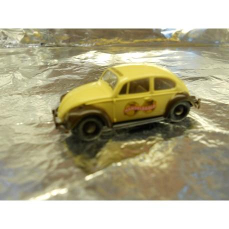 ** Brekina 25022 VW Beetle Cream/Brown Handelsgold