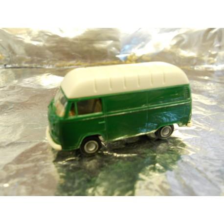** Brekina 33800 VW Van Green with White Roof