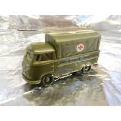 ** Brekina 32931 VW T1b Truck with Canopy Red Cross