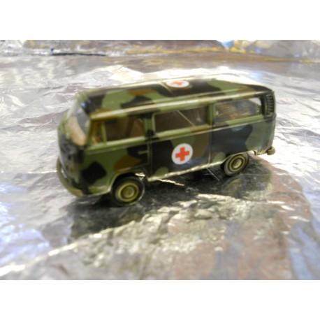 ** Brekina 33181 VW T2 Military Bus