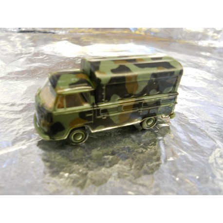 ** Brekina 33930 VW T2 Military Vehicle with Canopy
