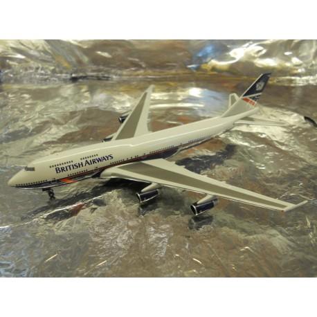 ** Herpa 528030 British Airways Boeing 747-400 (Landor)