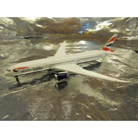 ** Herpa 528948 British Airways Boeing 787-9 Dreamliner