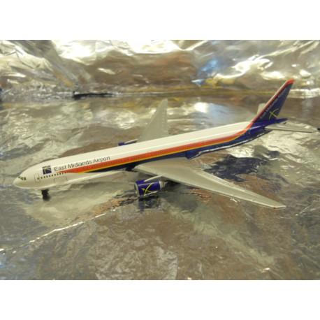 ** Herpa Wings 506496 East Midlands Airport Boeing 777-300