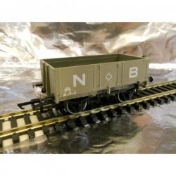 ** Oxford Rail 76MW4001 4- Plank Wagon - NBR