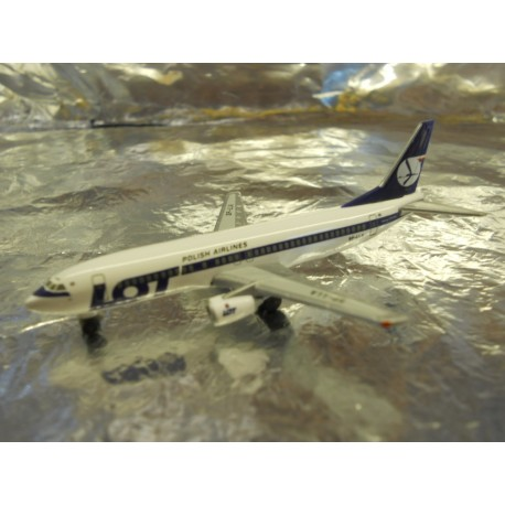 """** Herpa Wings 501330  LOT - Polish Airlines Boeing 737-400 """"70th ann."""""""