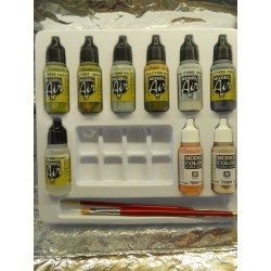 ** Herpa 371032 Herpa Weathering Color Set Trucks