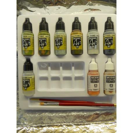 ** Herpa 371032 Herpa Weathering Color Set Trucks