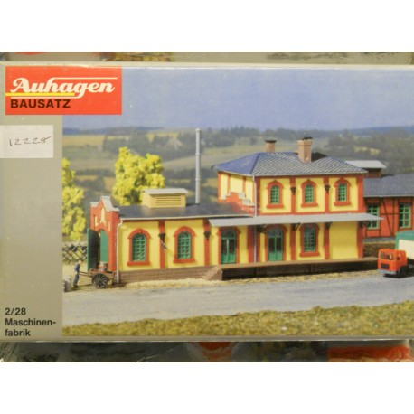 ** Auhagen 12228  Machine-Building Factory Kit