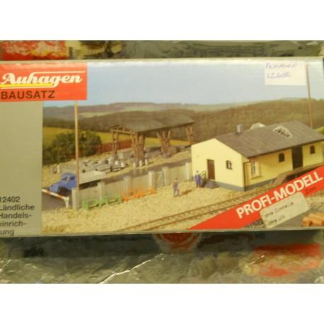 ** Auhagen 12402  Rural Building Material Distribution Centre Kit