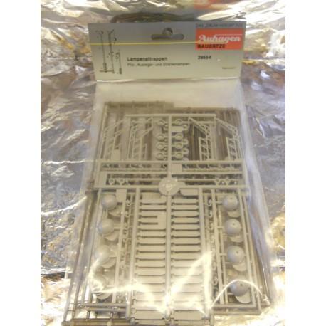 ** Auhagen 29554 Assorted Street Lights (Non Working) Kit
