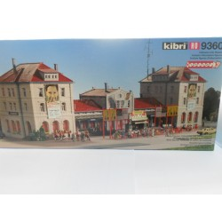 ** Kibri 9360 Mainline Station Freiberg excludes figures and Cars