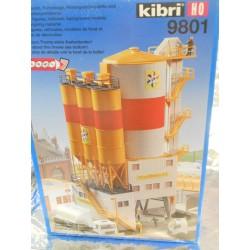 ** Kibri 9801 Cement Storage, Excludes Figures and Vehicles