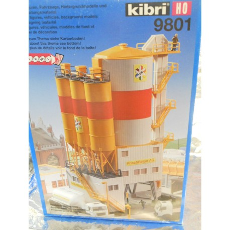 ** Kibri 9801 Cement Storage, Excludes Figures and Vehicles