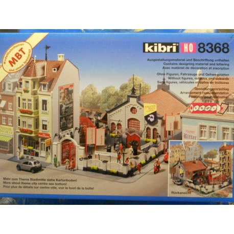 Kibri 8368 Theatre House, Excludes Figures, Vehicles and Background Buldings