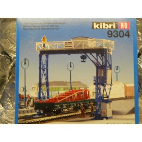 ** Kibri 9304 Gantry Crane, Excludes Figures and Rail Vehicles