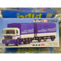 ** Kibri 11082  M A N Lorry and Trailer  Kit