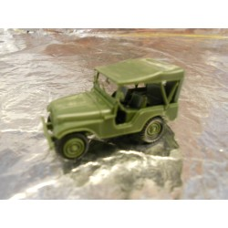 ** Herpa Minitank 741323  M 38 A1 Willys Jeep.