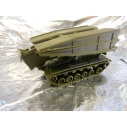 ** Minitank 219 M48 AVLB Tank + Bridge  USA/BW.