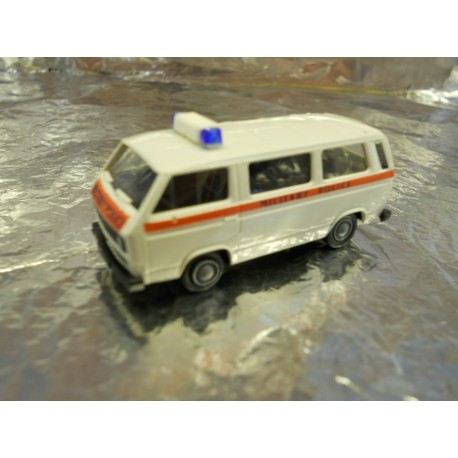 ** Minitank 408  VW Bus British Military Police.
