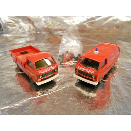 ** Minitank 629  Volkswagon T3 US Firebrigade Set 2
