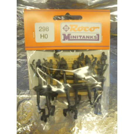 ** Minitank 298  Soldiers 16 Assorted Positions