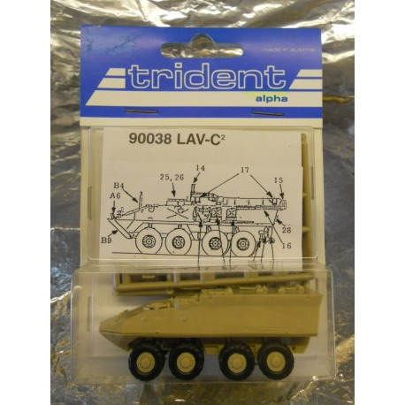 ** Trident 90038  LAV-C2  Personel Carrier.