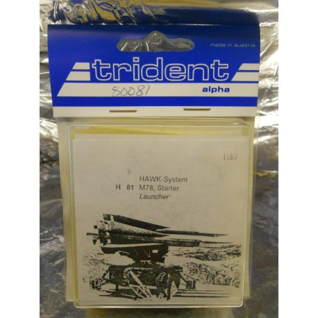 Trident 80081 Mobile M78 Hawk System Starter Launcher Whitemetal Kit