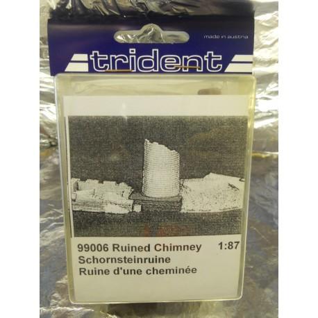 ** Trident 99006 Ruined Chimney Plastic Kit