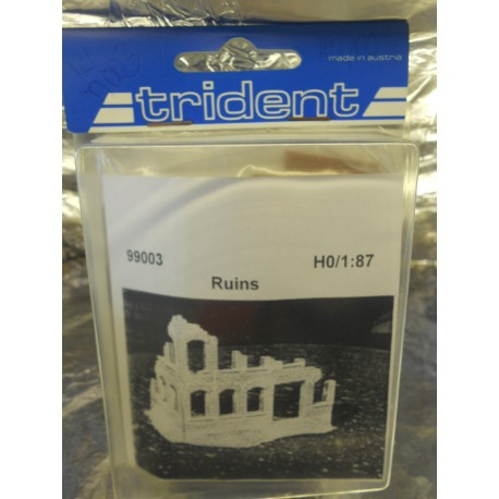 ** Trident 99003 Ruined Mansion Plastic Kit