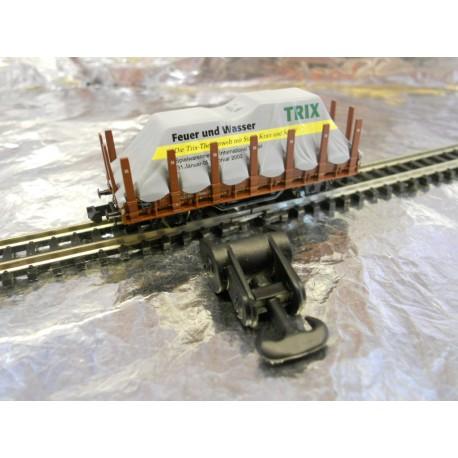 """** Minitrix 2002  Nurnberg 2002 Toy Fair  """" Feuer und Wasser """"  Wagon."""