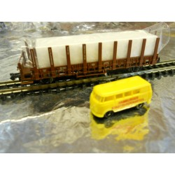 """** Minitrix 2003 Nurnberg 2003 Toy Fair """" Tor Zur Welt """" Wagon."""