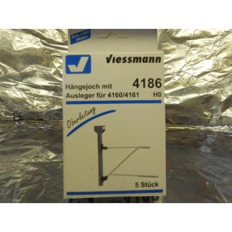 ** Viessmann 4186 Yoke with Bracket, For 4160/61.