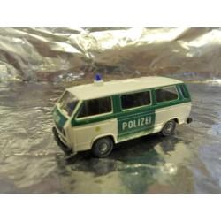 """** Roco 1444  """" Miniature Modell """" Volkswagon T3 Police Bus."""