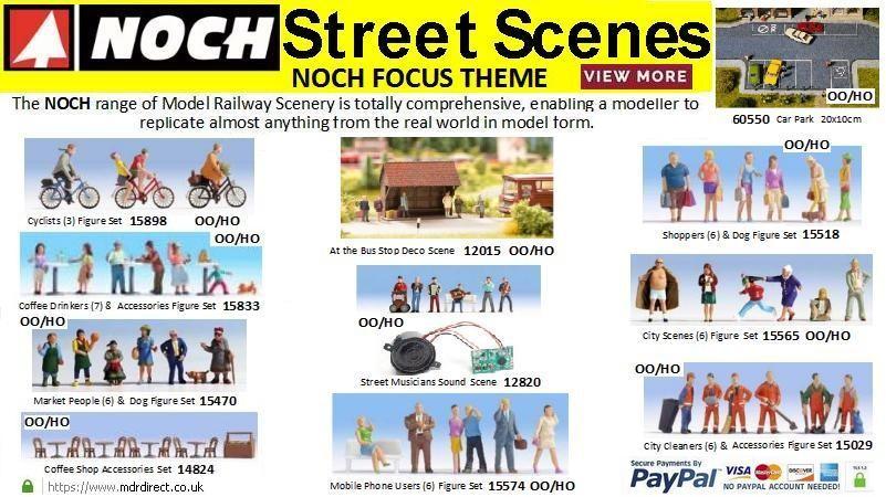 Street Scenes Noch Focus Theme - August 2019