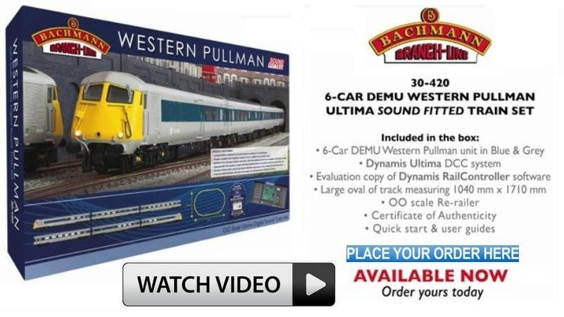 Bachmann 30-420 Western Pullman Ultima Digital Sound Fitted 00 Scale Train Set - To Special Order - Watch the Bachmann Video on YouTube