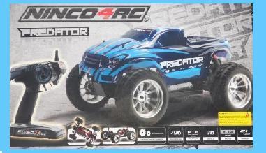 Ninco 4RC NH93043 1/10 Predator MT-10 2.4G RTR Radio Control Approx 50 Mtr Range
